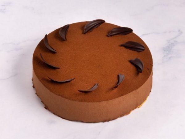 Chocolade Truffelbavaroise Taart