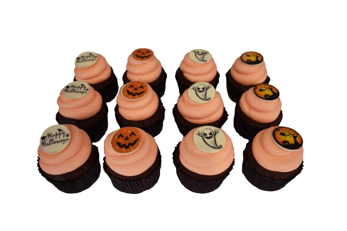 Halloween Cupcakes (12 Stuks)