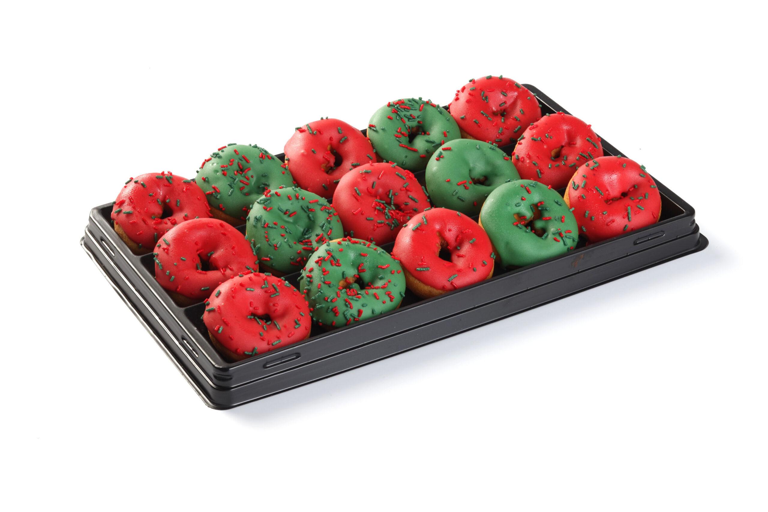 Mini Kerst Donuts (15 Stuks)